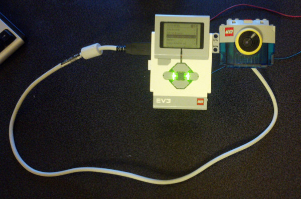 LEGO MovieMaker USB Camera with EV3 and ev3dev