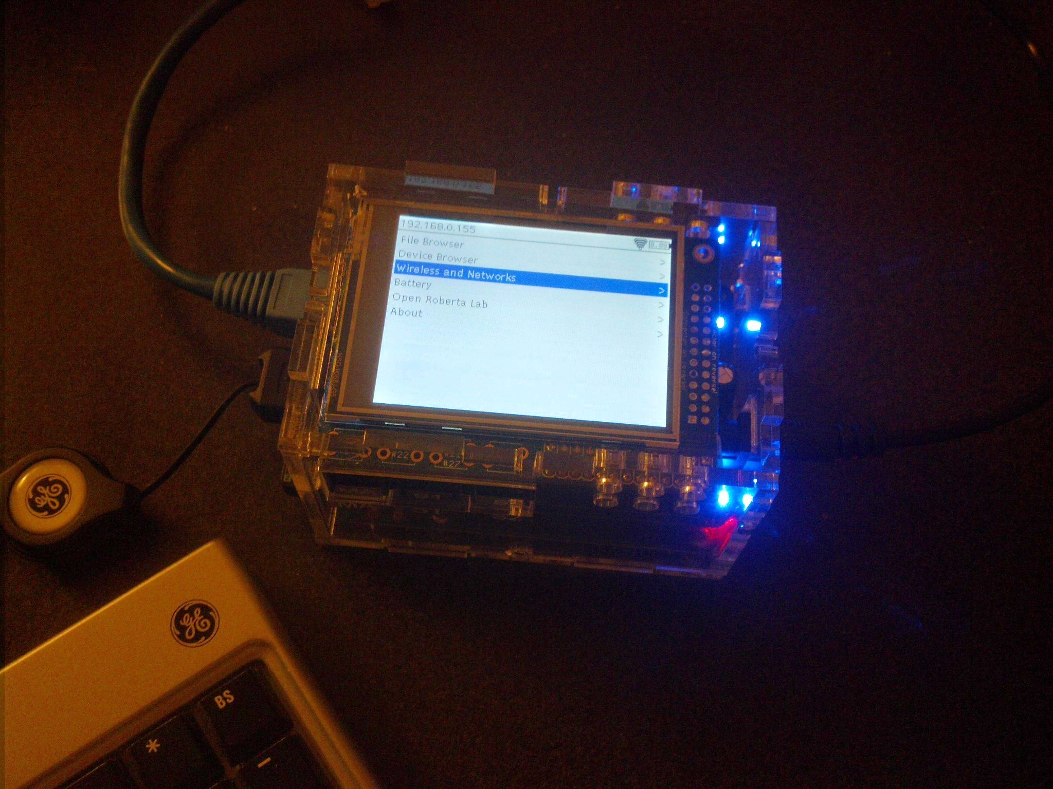 Adding a Display to BrickPi