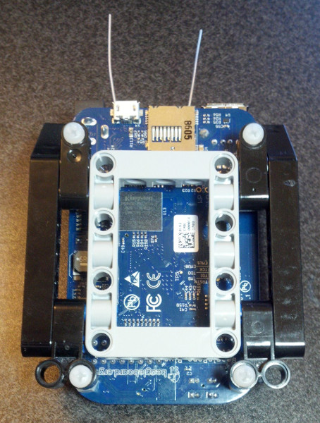 Mounting a BeagleBone Blue to Your LEGO MINDSTORMS Robot