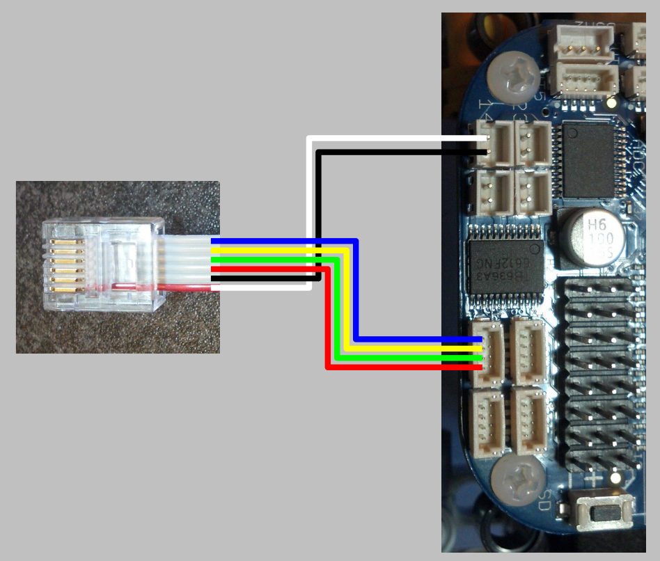 Using lego mindstorms motors with beaglebone blue lechnology it works out really nicely since the connections are in the same order on both sides of the cable i opted to make my own cables by crimping connectors onto asfbconference2016 Choice Image
